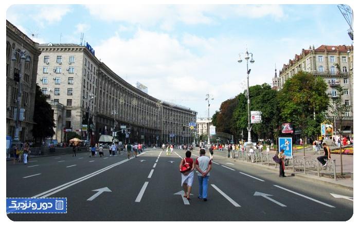 پایتخت اوکراین کیف