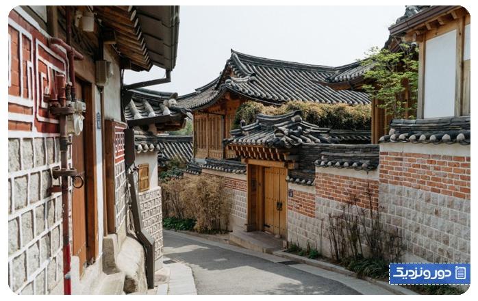 سفر به سئول کره جنوبی دهکده هانوک بوکچان
