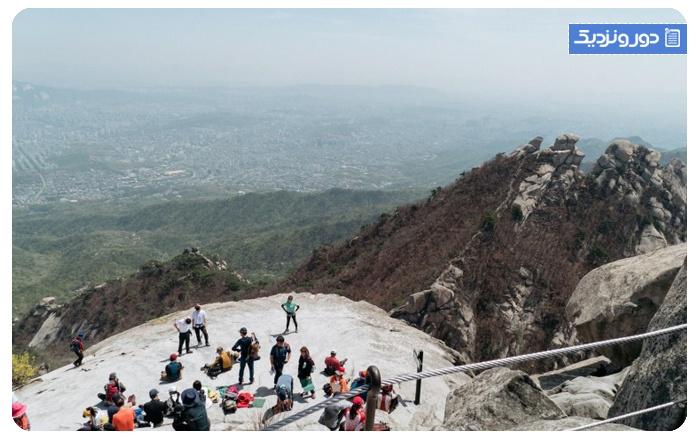 سفر به سئول کره جنوبی پارک ملی بوک هان سان