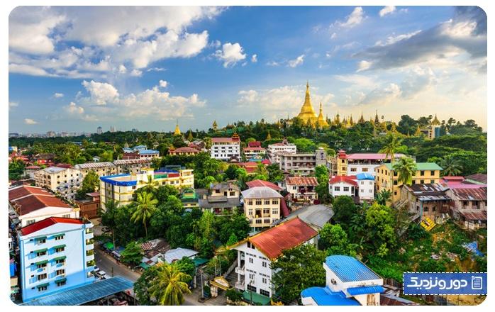 یانگون در میانمار