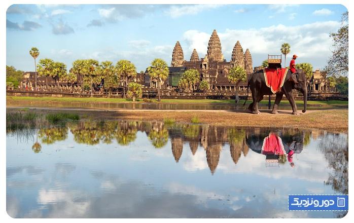 سیم ریپ در کامبوج