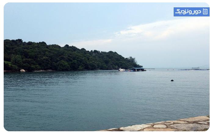 سواحل سنگاپور جزیرهی لازاروس