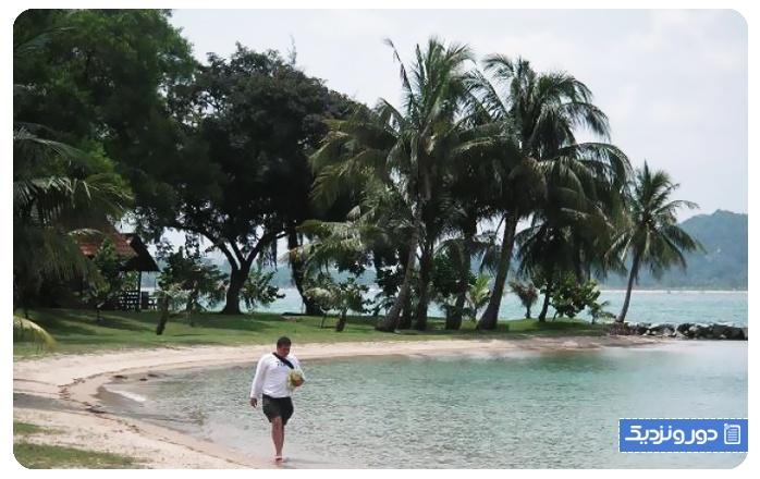 سواحل سنگاپور جزیره سنت جان