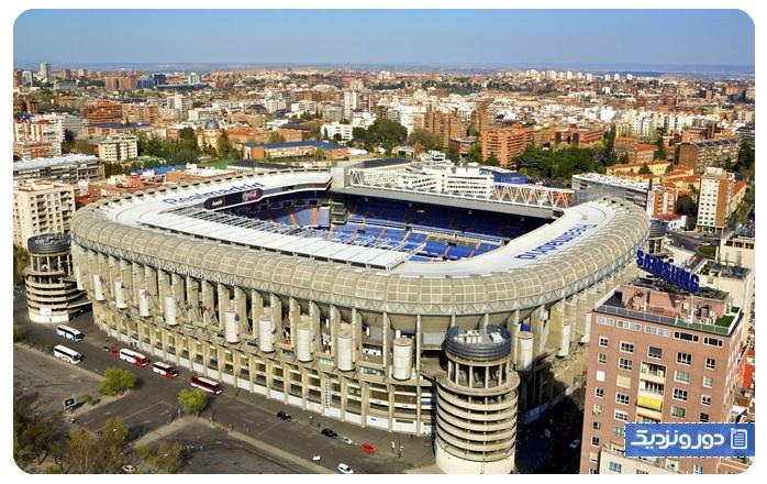 بازی رئال مادرید را تماشا کنید