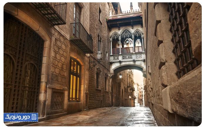 مغازه های اسپانیا بارسلونا مادرید