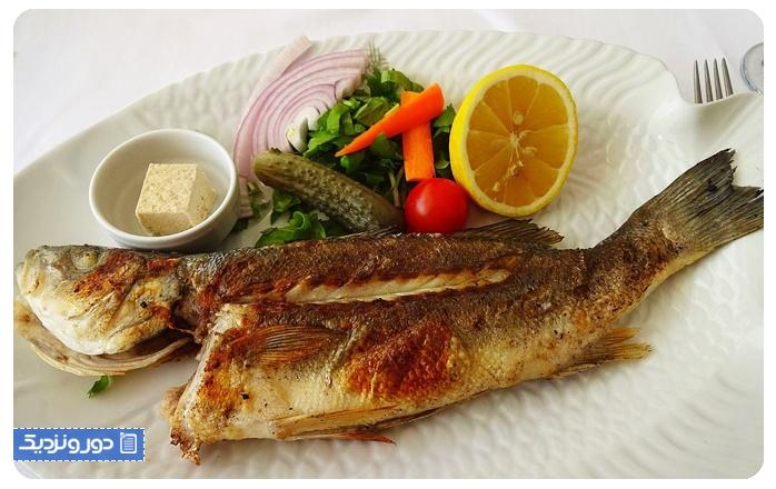 رستوران های ازمیر ماهی کبابی