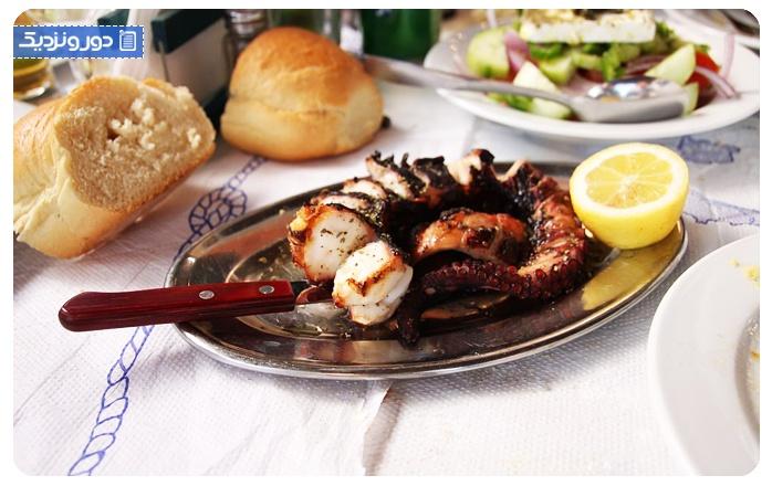 رستوران های ازمیر اختاپوس کبابی
