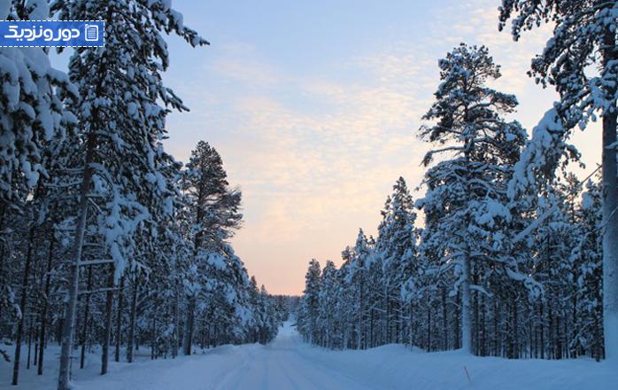 چگونه به سرمای زمستان فنلاند غلبه کنیم؟
