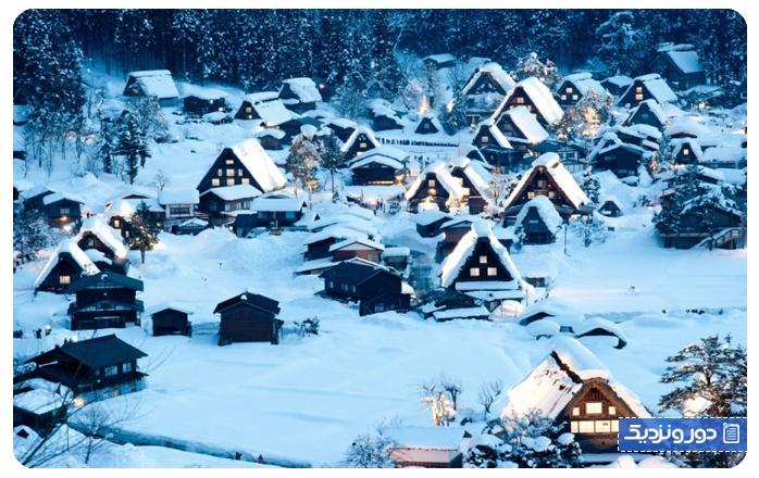 واندرلند زمستانی شیراکاوا، ژاپن