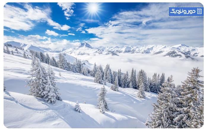 واندرلند زمستانی کیتزبول، اتریش