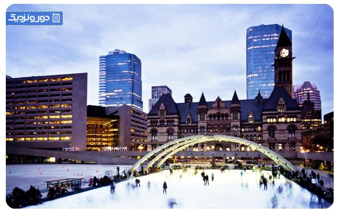 روزهای کریسمس در تورنتو