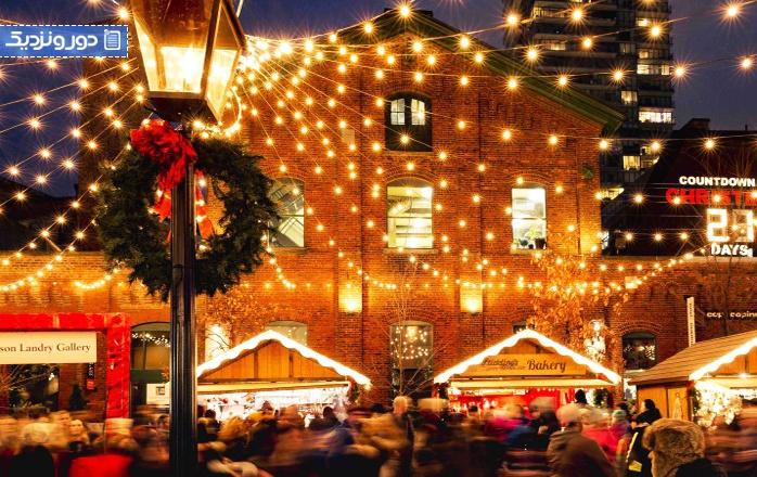 کارهایی که در ایام کریسمس در تورنتو می توان انجام داد