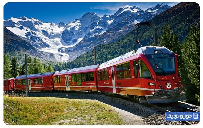 فصل بهار در سوئیس