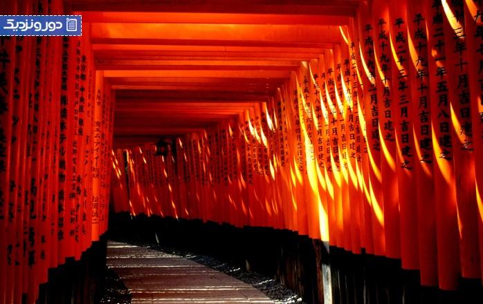 جاذبههای طبیعی کیوتو در ژاپن