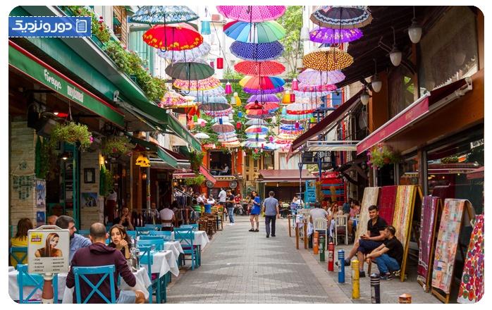 معروف ترین محلههای استانبول