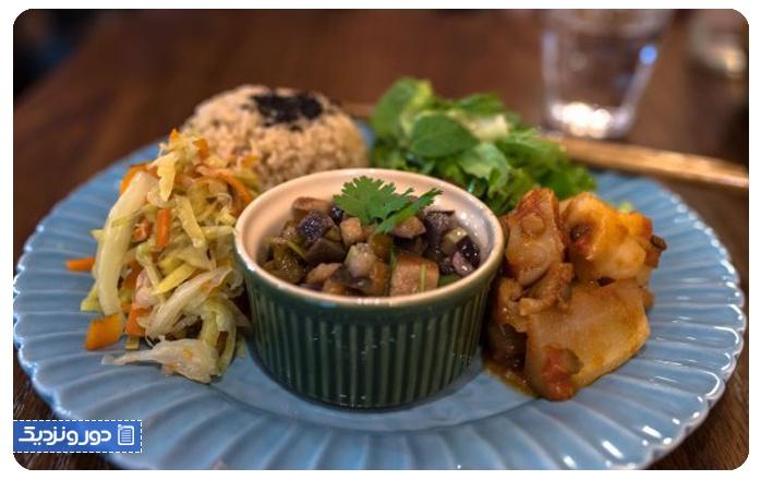 رستورانهای گیاهی اوساکا