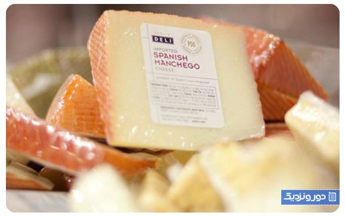 سوغات اسپانیا پنیر مانچگو