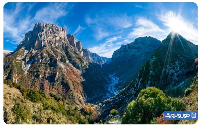 مناظر طبیعی یونان