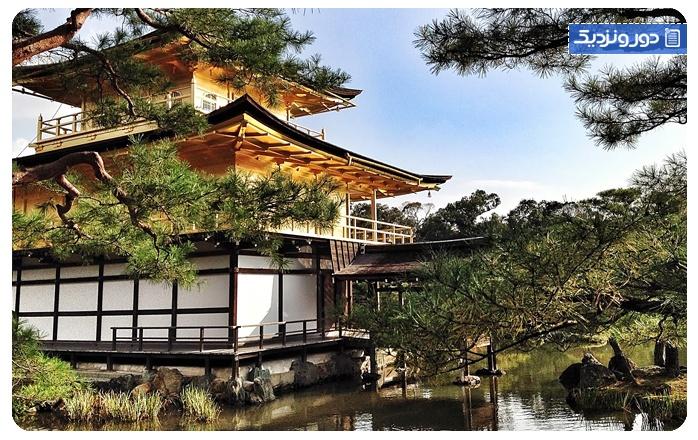 جاذبههای طبیعی کیوتو کاخ امپراطوری کیوتو