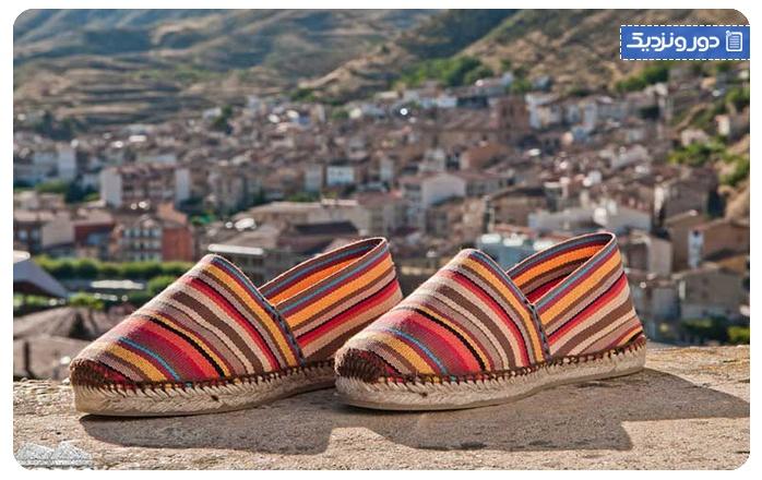سوغات اسپانیا کفش صندل