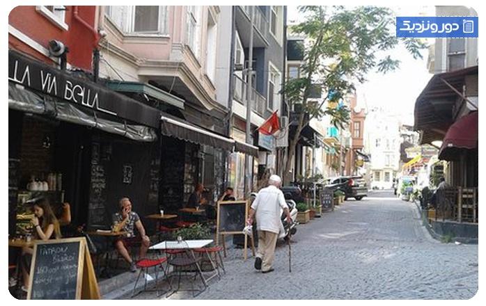 معروف ترین محلههای استانبول محلهی بشیکتاش