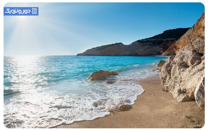 سواحل زیبای یونان