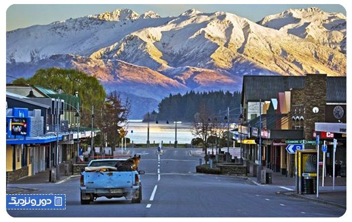 زیباترین شهرهای نیوزلند