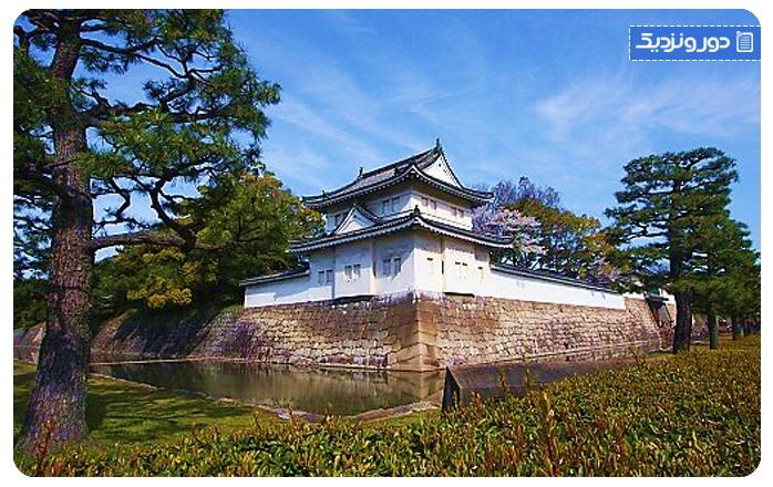 جاذبههای طبیعی کیوتو قلعه نیجو