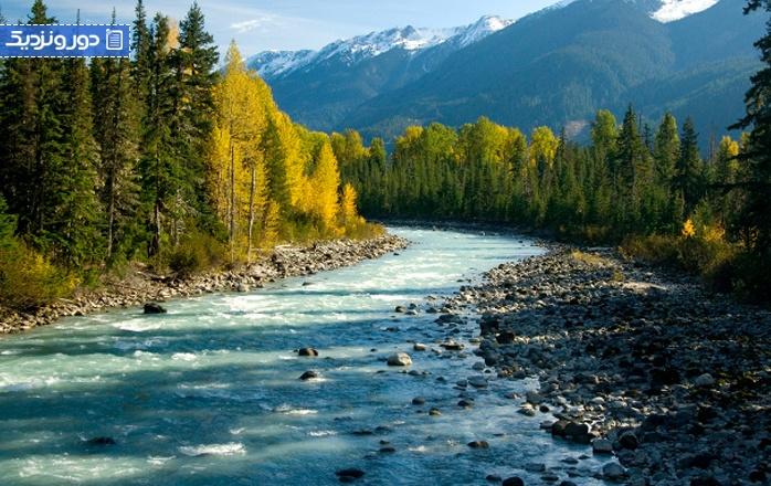 چشمههای آبگرم کشور کانادا