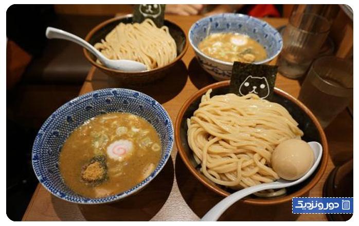 بهترین رستورانهای ژاپنی کهغذاهای ژاپنی