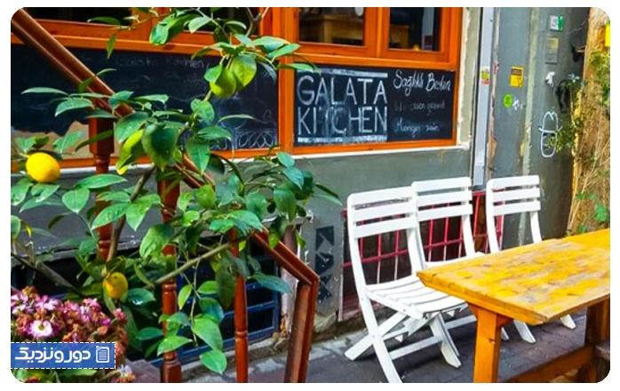 رستورانهای ارزان استانبول گالاتا