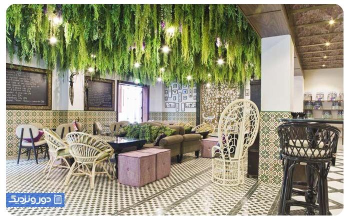 رستوران گیاهی دبی