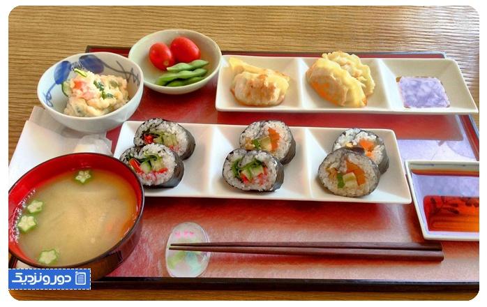 بهترین رستورانهای گیاهی کیوتو