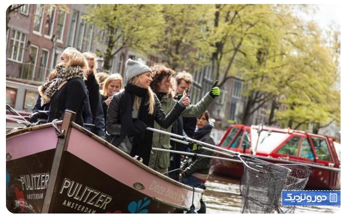 جاذبههای عجیب در آمستردام
