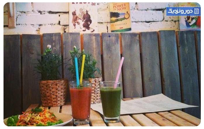 غذاهای گیاهی D'ivan Restaurant