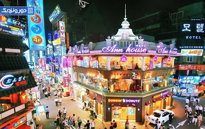بهترین هتل های محله ایته وان در سئول