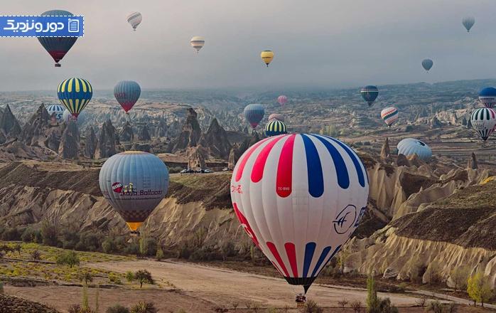 هزینه سفر به کشور ترکیه