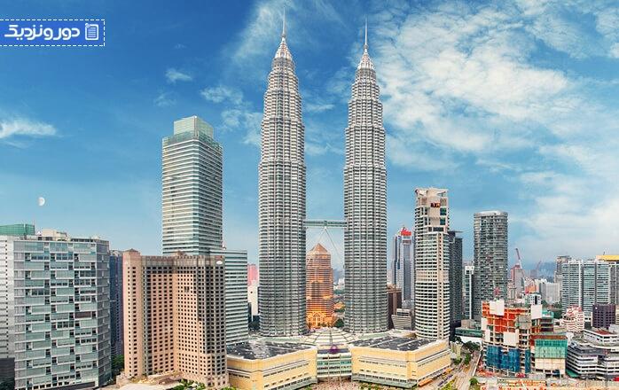 هزینه گردشگری در مالزی
