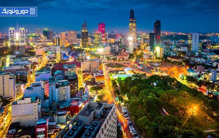 معرفی جاذبه های گردشگری شهر هوشی مین در ویتنام