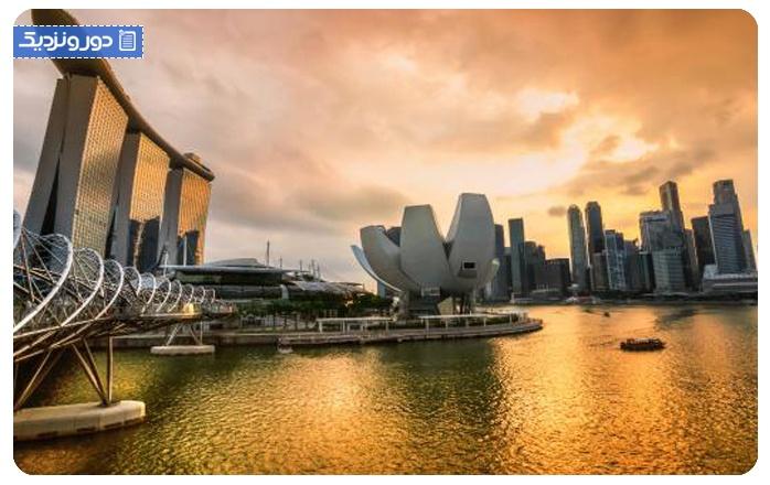 هزینهی سفر به سنگاپور