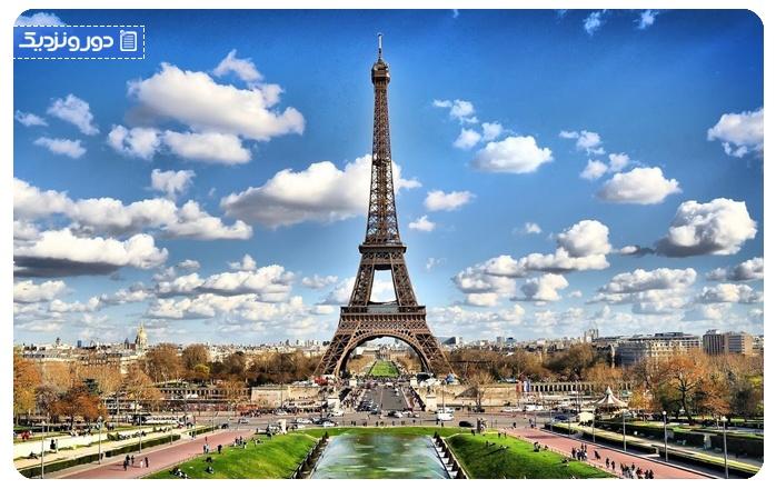 فرانسه پر بازدیدترین کشور دنیا