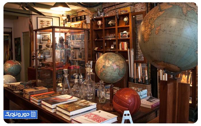فروشگاه هنری در آمستردام