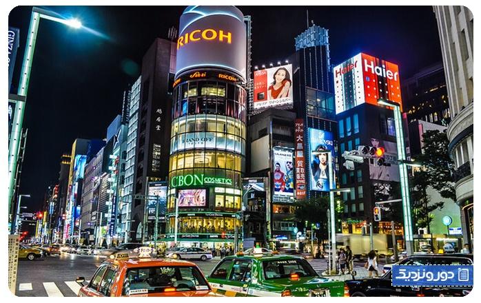 سفر یک هفتهای به توکیو