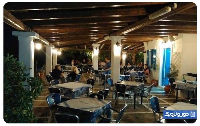 بهترین رستورانهای جزیرهی آیوس غذای یونانی