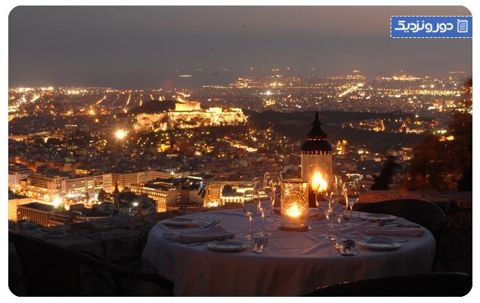 بهترین رستورانهای شهر آتن