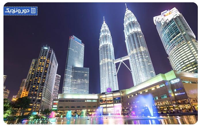 جاذبههای گردشگری مالزی