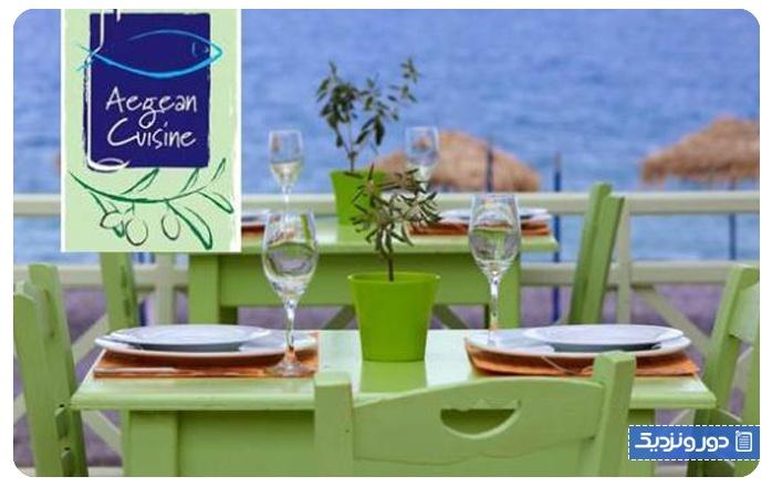 بهترین رستورانهای سانتورینی