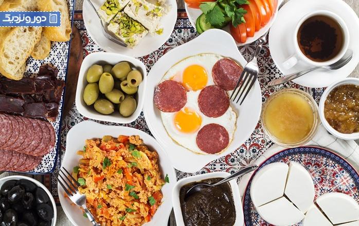 معرفی بهترین کافه ها و رستوران های ترکیه برای صرف صبحانه ترکیهای