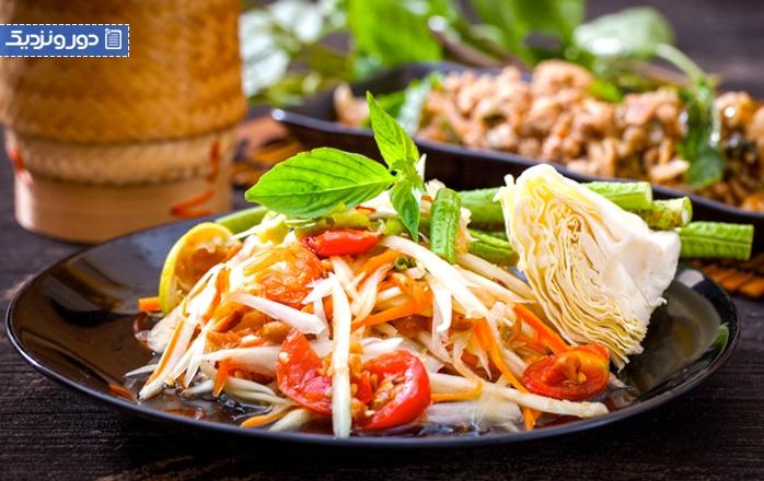 معروف ترین غذاهای تایلندی