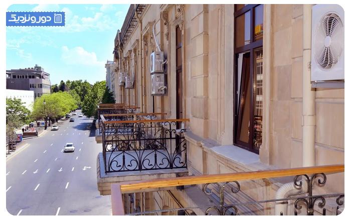 بهترین بوتیک هتل های باکو